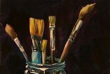 Collections: PAINT BRUSHES / by Kathleen Gordon-Burke