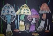 Inspiration for Student Art / by Carolyn Elizabeth