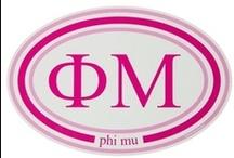 "Phi Mu / ""Vibrant"" / by USA GreekLife"