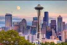 Seattle/Washington State & B.C. / by Shelly Seales