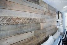 {Reclaimed Wood Projects} / Reclaimed wood projects from pallets and crates and more... / by Upcycled Treasures/A Handcrafted Wedding