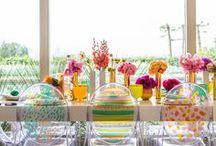 {Party Time!} / Party and event decor and recipe ideas / by Upcycled Treasures/A Handcrafted Wedding