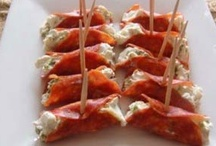 Appetizers/Party Foods/Sandwiches / by Holly Boyle