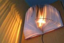 Bookish Crafts / Upcycled and recycled books and DIY crafts / by Aurora Public Library, Illinois