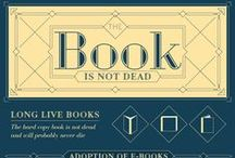 Book and Reading Infographics / Fun information about books and reading in colorful, bite-sized portions! / by Aurora Public Library, Illinois