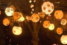Fall, Halloween, Thanksgiving deco / by Mary Ann Fitzgerald