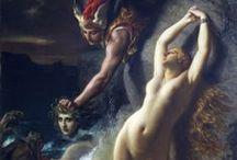 art ≈ skin.silk.satin « / ~ 18th & 19th c. * Rococo * Academic * Neo-classical * Pre-Raphaelite * Symbolist * Romantic ~ / by Richard da Mota