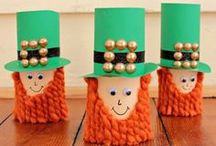 St.Patrick's Day - DIY / Have fun with these neat ideas for this St.Patrick's Day with your family! / by Heritage Education Funds