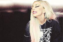 Stefani Joanne Angelina Germanotta. Lady Gaga. <3 / by Layla Bueling