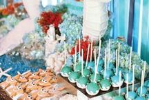 Under the Sea & Mermaid Party / Alexis & Ava - 2nd Birthday Party (2014) / by Heather Stone