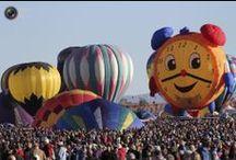 Hot Air Balloons... / by Marie Wilfinger