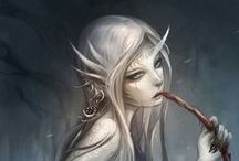 seres mitologicos / seres de mitologías antiguas / by Hidari Sama