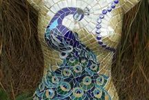 Mosaics and stained glass inspiration - Projects to Try / Mosaics and stained glass / by Sandra Holmes