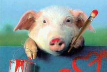 I Love Piggies! / by Vickie Ezell