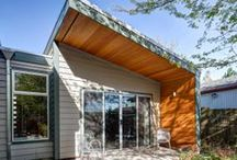 NW Modern Home Design / Modern home design from the Pacific Northwest. A selection of new homes and remodels that best display Pacific Northwest modern design.   / by Hammer & Hand