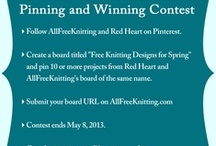 Free Knitting Designs for Spring / AllFreeKnitting / by The Hooked Haberdasher