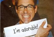 The Adorable Robert Downey Jr. / *Can you please stop being so darn adorable Mr. Downey?* / by Sunny Lee