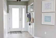 Foyer inspiration / by Heather O'Leary