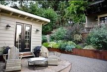 Outdoor spaces and ideas / by Heather O'Leary