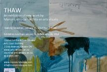 Events & Exhibitions / Exhibitions and events of Franco Ontarian artist Manon Labrosse. / by Manon Labrosse - Artiste en arts visuels