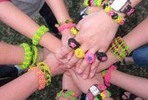 Rainbow loom  / Everything rainbow loom  / by Teagan Van Alstyne