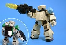 Lego Mecha / by Rich Miller