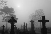 Cemetaries, Graveyards, & Plots... / Cemetaries where we go to our final resting Place. / by Brian Edlund