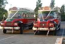 CAZADORAS. o buses antiguos,,,,. / by Anabelle Quesada