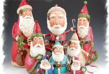 Santa Crafts ♡ / favorite Santa's  / by Tammy