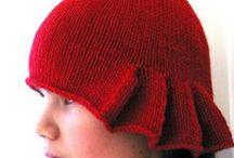 gorros ,toucas e chapéus / tricot e crohet / by Maria Rosa Tomás