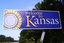 KANSAS MY HOME / Born and raised in Kansas / by Frances Shorr