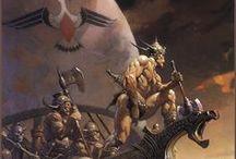 Frank Frazetta, Master of the Fantasy Art Genre. / Frazetta, Master of the Fantasy Art Genre. / by Sam Tarly