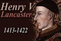 "UK_History_Henry V Lancaster / monarchy, royals, king and queens, prince and princess, aristocracy, nobility... Henry V; 1413-1422; House of Lancaster; father (predecessor): Henry IV (of Bolingbroke); mother: Mary de Bohun; wife: Katherine of Valois; successor (son): Henry VI; as well as: Battle of Shrewsbury; Henry ""Harry Hotspur"" Percy from Northumberland; Battle of Agincourt; Falstaff / Flagstaff / Falstaffian and Prince Hal by Shakespeare / by alienora"
