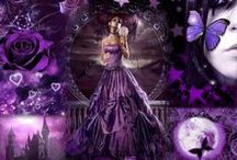 My Passion for Purple / I LOVE all things Purple....such a happy, vibrant, ALIVE color. My favorite color / by Kathy Sexton Stevens