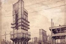 Architecture - drawings / by Jesus Risueño