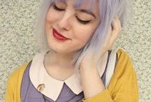 Retro closet / The cyber closet ~Kitschy~Goodwill Gypsy~Cool~Upcycled~hipster threads / by Manic Pixie