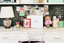Office space / Home office styling ideas and trends / by Elisa Smith
