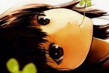 ANIME/MANGA / I love big eyes, little nose and cartoons... / by Ozge Ozcan Aydogdu