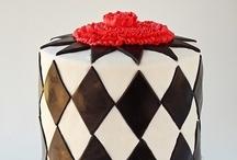 Harlequin Cake / by SugaryWinzy