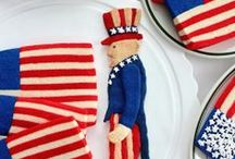 Flag Cookies / by SugaryWinzy