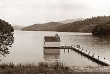 History / A collection of historic area and resort photos. Some of these imaged date back as far as the early 1920's. Visit Lakeview Restaurant at the Resort to see many of these images on display.  / by Rumbling Bald Resort