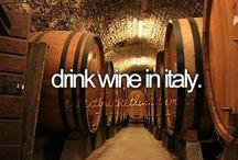 Vino....Vino....Cin....Cin! / Italian wines are the best! / by DIVINA SEI !!!