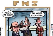 Humor financiero / Viñetas de humor relacionadas con la economía y las finanzas / by Unience