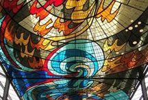 I- ART - Mixed Media - Mosaics - Glass - Murals / by Sharon Rains