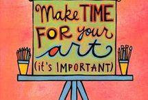 ART! / creative inspirations / by Kori Davidson