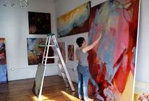 Inspiring ART - Abstract / by Sharon Rains
