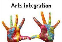 A -Teach - ARTS INTEGRATION - STEAM -ART STATIONS -Choice-based Art / by Sharon Rains