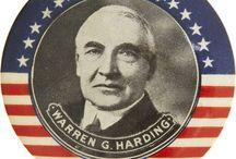 Warren G Harding / Not my Dad- the other one / by Deborah Bock
