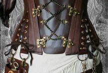 Body wear for Steampunk costumes / by Brenda Davis