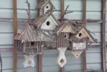 Bird houses and Bird cages / by Isabel Cristina Colon